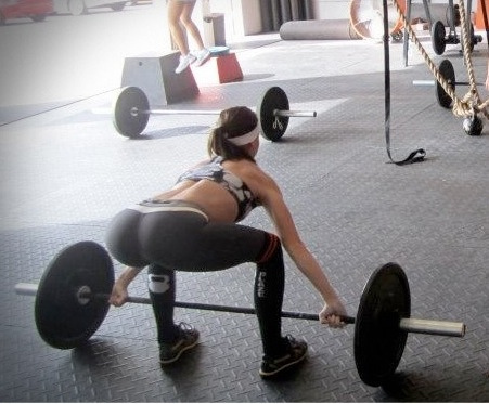 gym butt photo